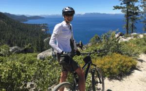 featured image Janice Keilor mountain biking on Tunnel Creek Road