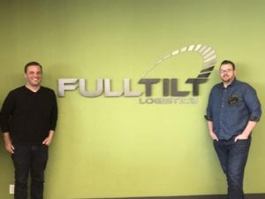 featured image Jake Rauna and Kyle Sunderland standing in front of Full Tilt Signage