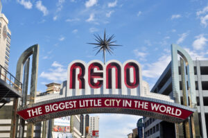 featured image showing the Biggest LIttle City sign in Reno, Nevada