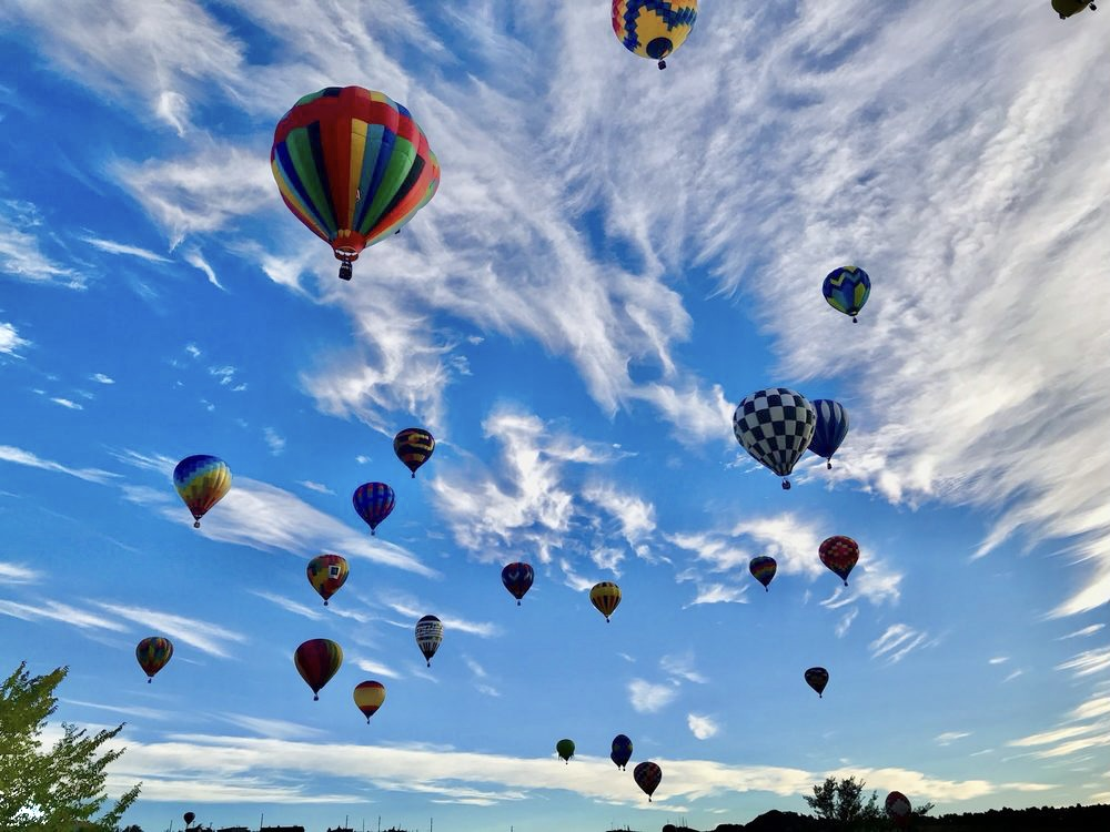 featured image showing the Great Ballon Race in Reno Nevada
