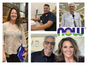 featured image showing members of the NOW Health Group DBA NOW Foods family