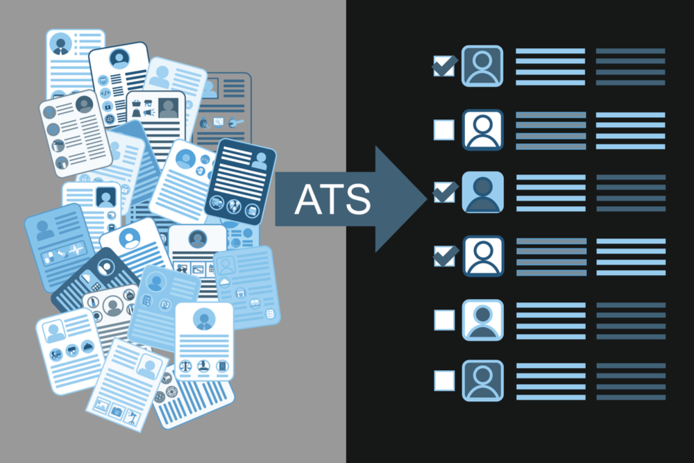 inline image showing an infographic that explains how Applicant Tracking Systems (ATS) work.